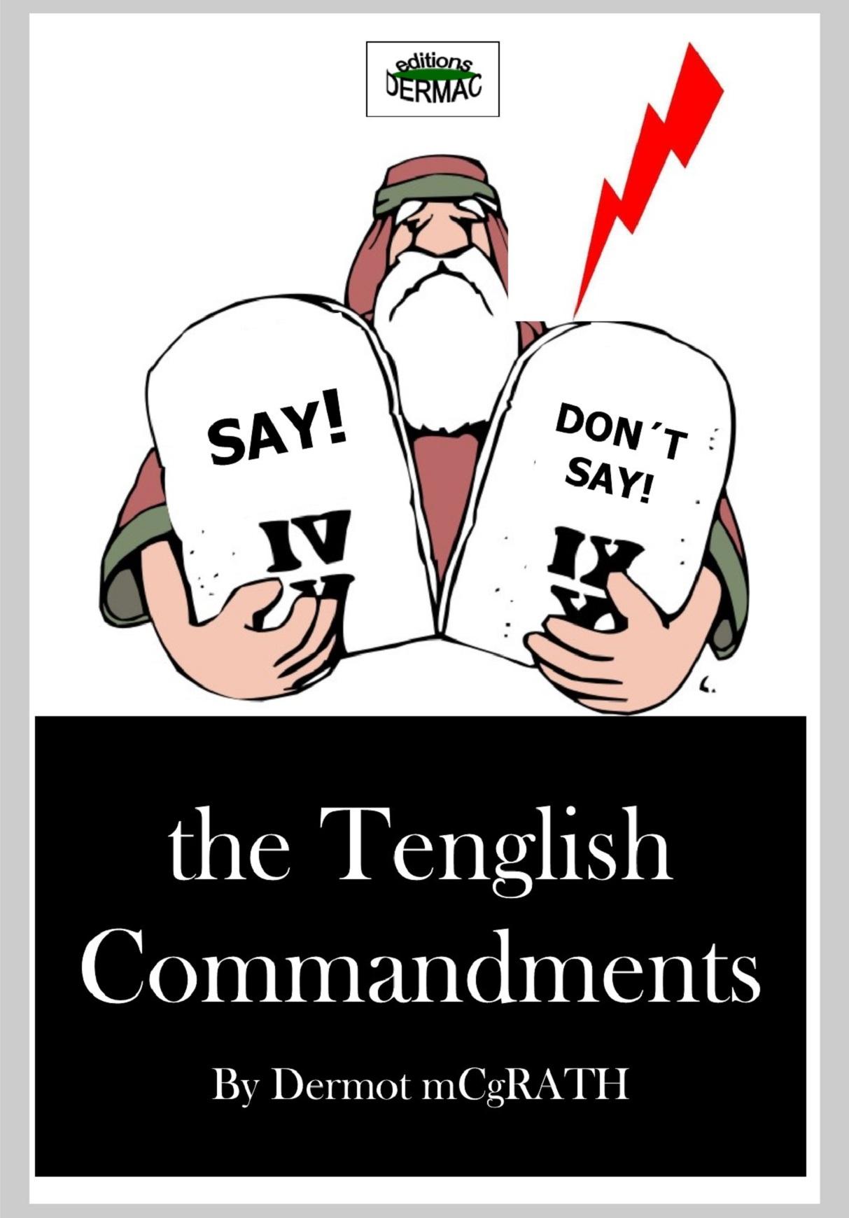The Tenglish Commandments