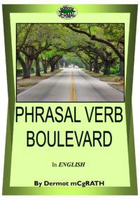 Phrasal verb BOULEVARD